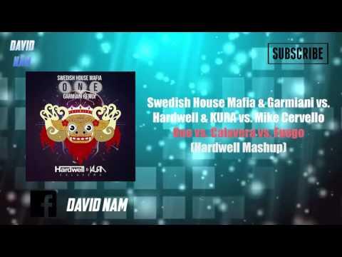 One vs. Calavera vs. Fuego (Hardwell Mashup) [David Nam Remake]