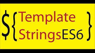 javascript tagged template strings in ES6 (new string functions tutorial )
