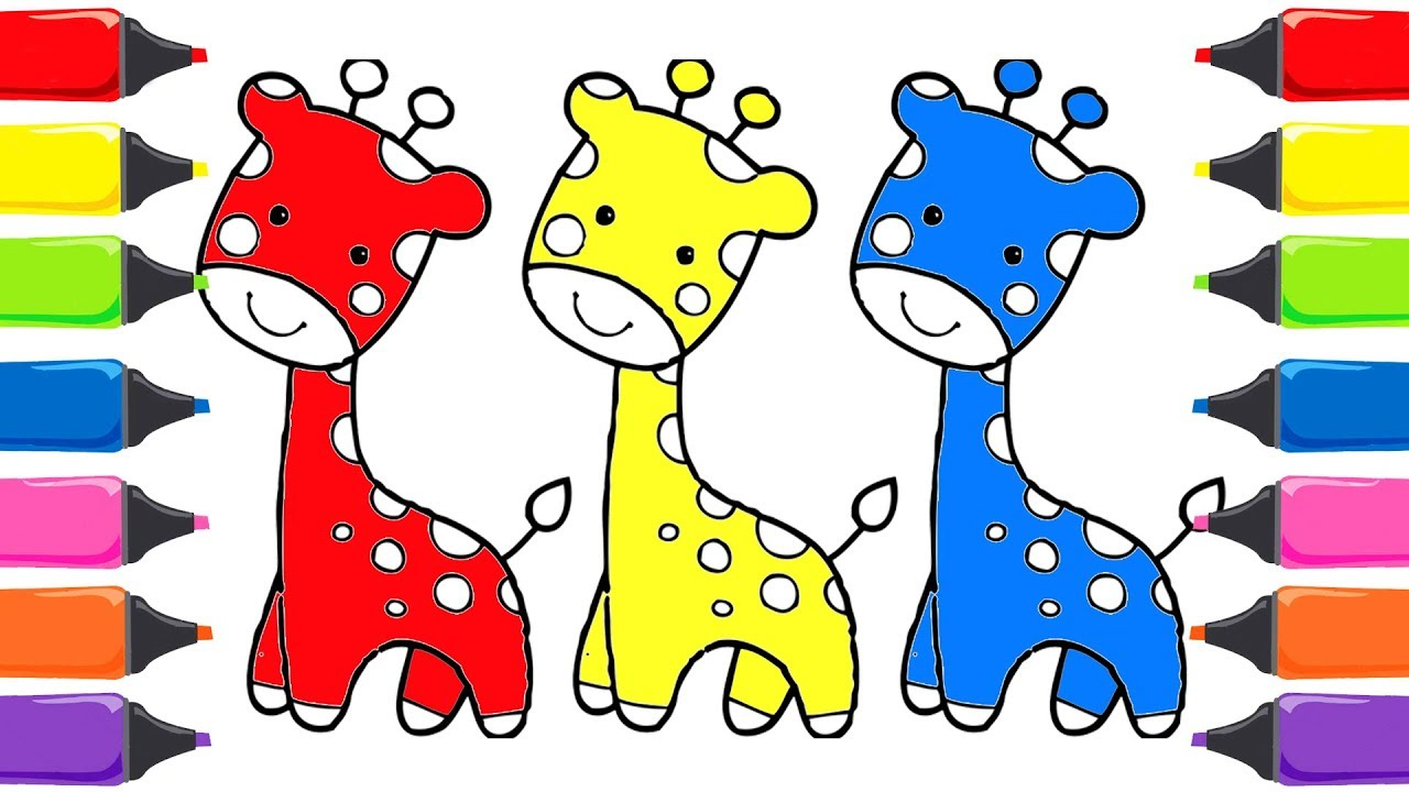 Hayvanlar Boyama Renkleri öğreniyorum Renkler Türkçe çocuk şarkıları