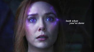wanda maximoff (+ vision) || look what you've done [+1x07]