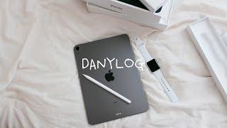 ENG) 자취생 브이로그, 아이패드 에어4/펜슬2 애플…