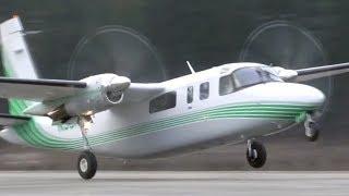 Rockwell 690B Turbo Commander Takeoff