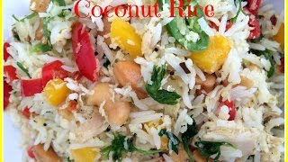 Coconut Rice - (coconut Flavoured Rice With Chicken)