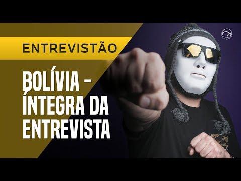 """""""POR TRÁS DA MÁSCARA"""" - BOLÍVIA DO DESIMPEDIDOS  ENTREVISTÃO UOL ESPORTE"""