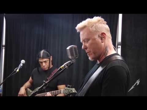 Metallica - Love Gun (Tuning Room - São Paulo, Brazil 2017)