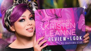 Urban Decay Kristen Leanne Makeup REVIEW and LOOK! | Charisma Star