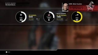 Call Of Duty Infinite Warefare MP 30 Grind Live PS4 Broadcast