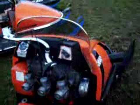 AMF XX1800 vintage racing snowmobile