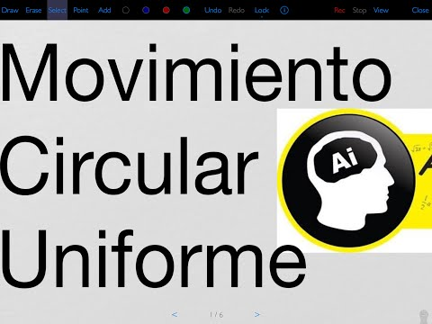 Movimiento Circular Uniforme MCU