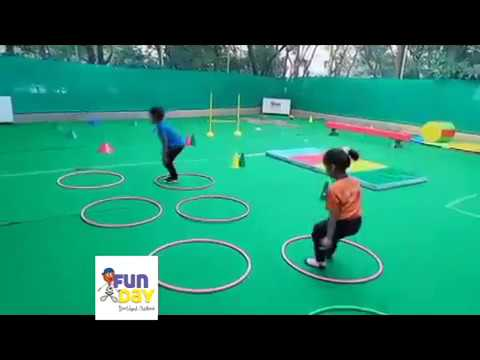 BEST CIRCUIT for Kids I Funday Sports Arena Activities I Sports activities for kids I Funday Sports