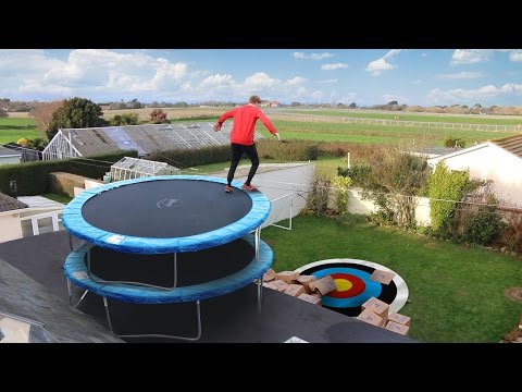 Thumbnail: TRAMPOLINE ROOF JUMPING