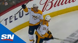 Colton Sissons Extends To Tip Roman Josi
