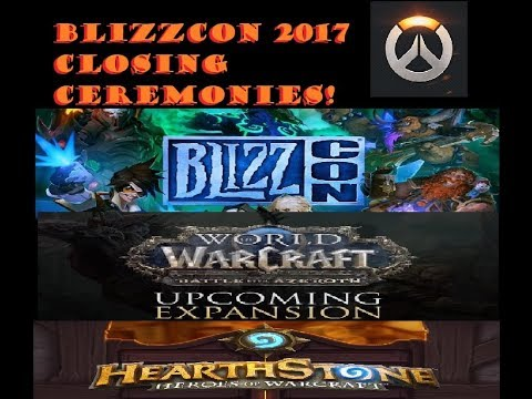 Blizzcon2017 Closing ceremony!