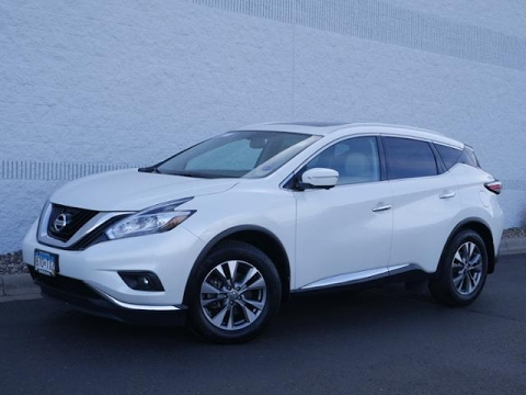 2015 nissan murano awd 4dr sl for sale in coon rapids. Black Bedroom Furniture Sets. Home Design Ideas
