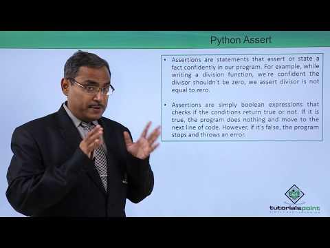 Python - Assert - YouTube