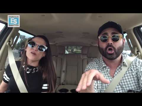 Natalia Jimenez se montó en el Uber con Enrique Santos #EnriqueUber