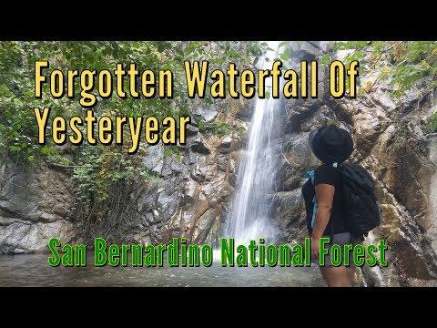 Forgotten Waterfall of Yesteryear - San Bernardino National Forest