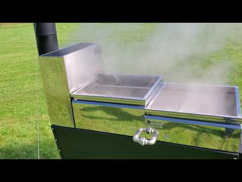 Dauntless High Performance Hobby Maple Syrup Evaporator, Video 2 of 3