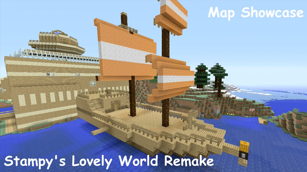 Minecraft xbox map showcase stampys lovely world youtube minecraft xbox map showcase stampys lovely world gumiabroncs Images
