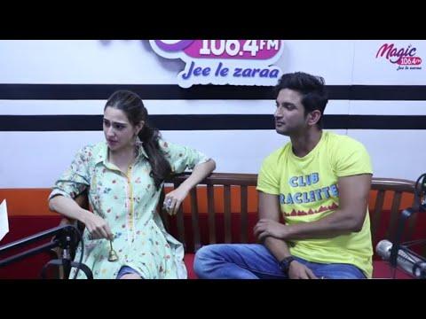 The Mumbai Versus Delhi quiz with  Sara and Sushant Singh Rajput