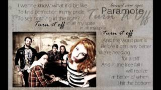 Paramore - Turn It Off (Acoustic) [Brand New Eyes]