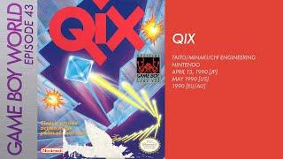 Game Boy World #043: Qix [Taito/Minakuchi Engineering/Nintendo, 1990]