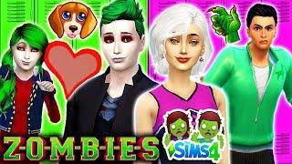 ZOEY ' S NIEUWE PUPPY!  Bucky Heeft de ZOMBIE VLOEK?!   Disney ZOMBIES Sims 4 (Ep 6) ZOMS vs MP ' s