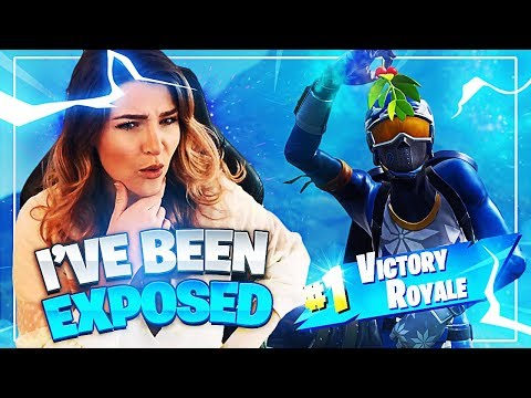 They figured out who I am... (Fortnite: Battle Royale) | KittyPlays