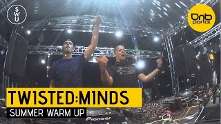 Twisted:Minds - Summer Warm Up 2015 [DnBPortal.com]