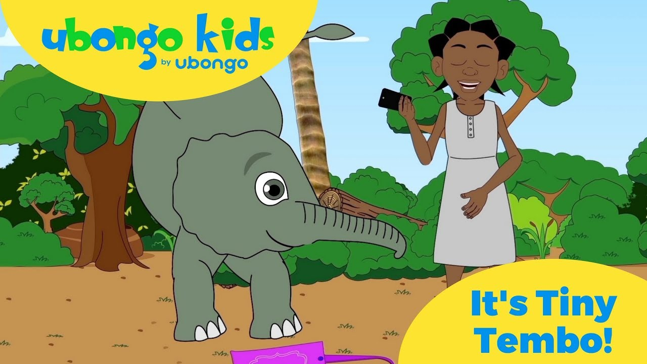 It's Tiny Tembo!  | Our favorite little elephant from Ubongo Kids!