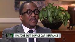 Factors that impact car insurance
