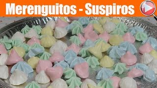 Merenguitos - Turrones - Suspiros - Merengue Suizo - Recetas en Casayfamiliatv