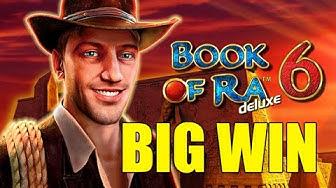 Online casino 6 euro bet HUGE WIN - Book of Ra 6 BIG WIN