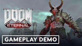 How Doom Eternal Draws From Doom II: Hell On Earth - IGN LIVE | E3 2019