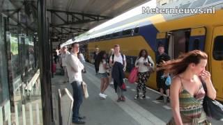 Passagiers in Meppel de dupe van stroomstoring Zwolle