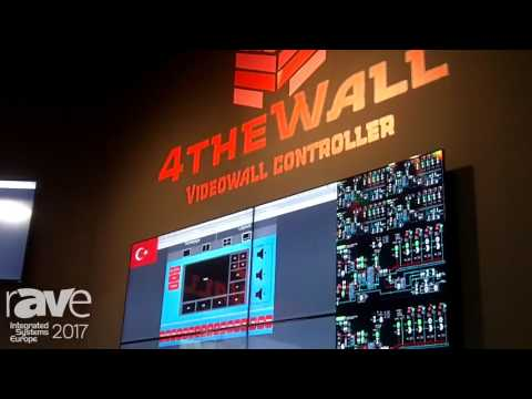 ISE 2017: 4TheWall Highlights Videowall Controller and Software