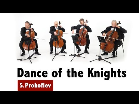 Rastrelli Cello Quartet  SProkofiev  Dance of the Knights  from Romeo and Juliet