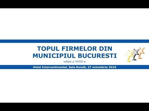 Topul  firmelor din municipiul Bucuresti, 2016