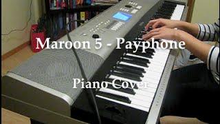 Maroon 5 - Payphone ft. Wiz Khalifa (HQ piano cover)