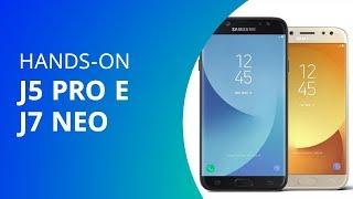 Samsung Galaxy J5 Pro e J7 Neo [Hands-on]