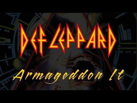 Def Leppard - Armageddon It (Lyrics) Official Remaster