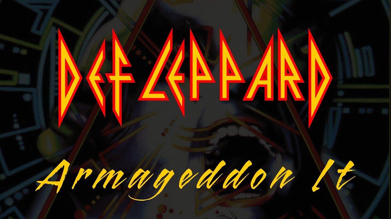 Def Leppard - Armageddon It - YouTube