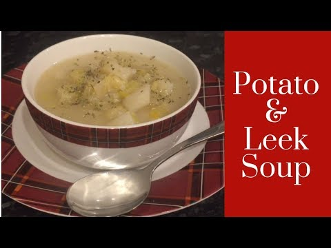 Slow Cooker Easy Potato & Leek Soup Recipe :)