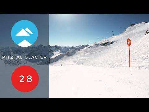 Red 28 | Pitztal Glacier, Austria | Piste View
