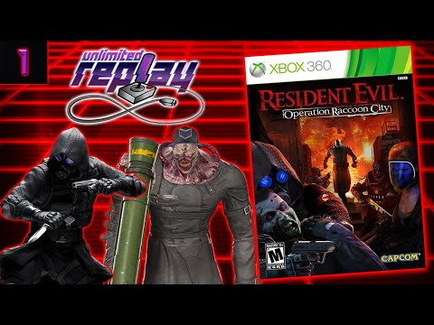 Resident Evil: Operation Raccoon City (Part 1) Live Stream - Unlimited Replay