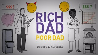 HOW TO GET RICH - RICH DAD POOR DAD BY ROBERT KIYOSAKI | Animated Video Audio Book Summary Review