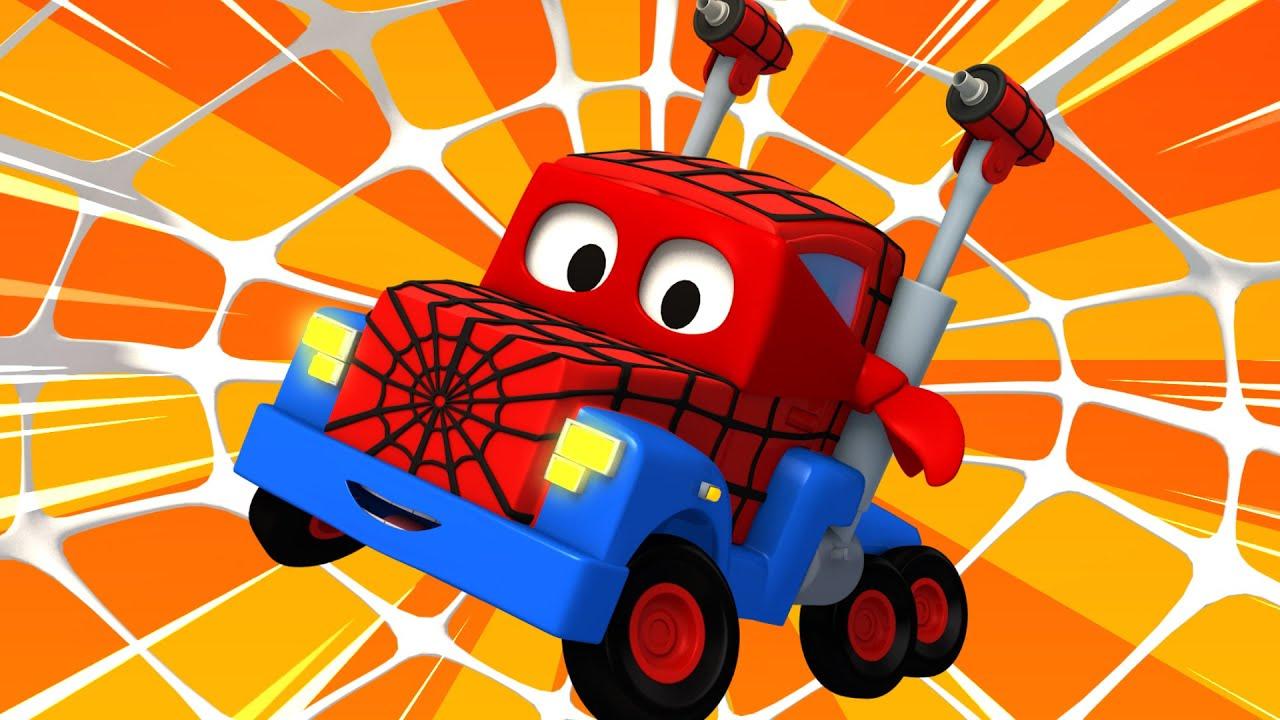 Xe tải nhện – Siêu xe tải Carl 🚚⍟ những bộ phim hoạt hình về xe tải l Vietnamese Cartoons for Kids