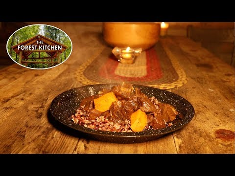 Self Reliance Food | Moroccan Goat | Cast Iron Cooking