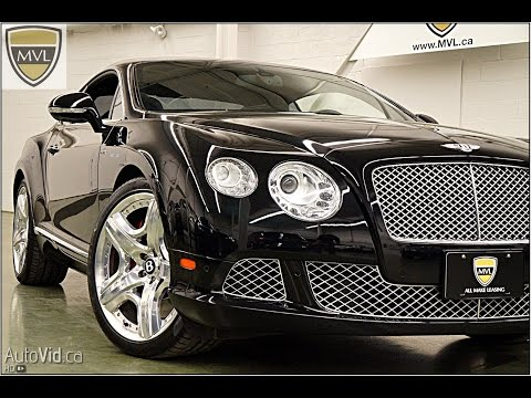 2012 Bentley Continental GT W12 | MVL leasing.com - Toronto Exotics