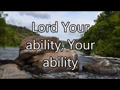 Sinach Lord Your Ability with lyrics